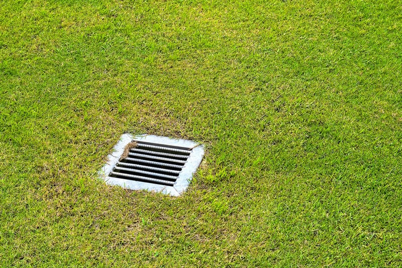 In ground drainage system