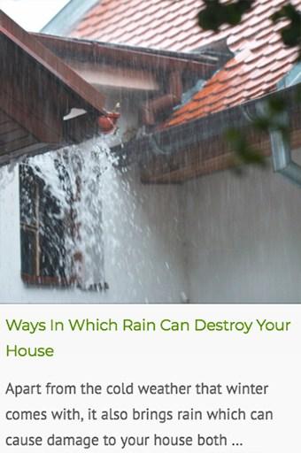 rain can destroy a house foundation blog post