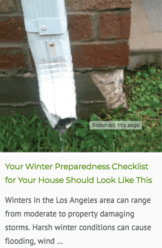 winter preparedness checklist blog post